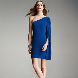 Jill Jill Stuart One-Shoulder Crepe Cocktail Dress